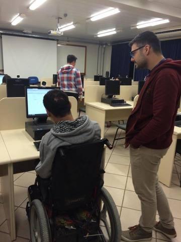 Cadastro de Currículos para Pessoa com Deficiência