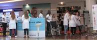 Cursos da Unochapecó realizam ação no Shopping Pátio