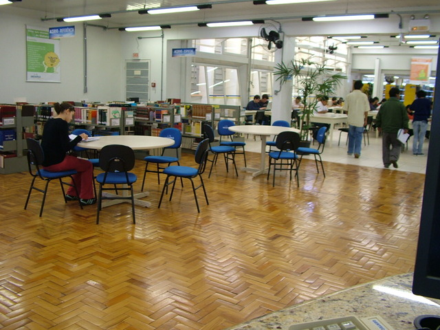 Aulas do Curso em diversos espaços