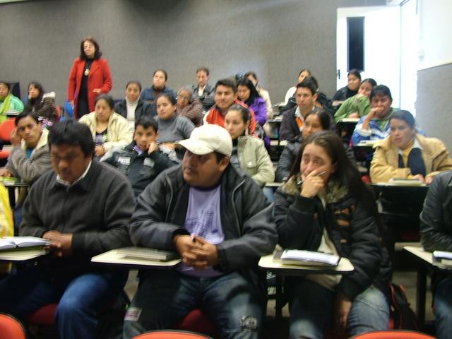 Aula Inaugural do Curso de Licenciatura Indígena