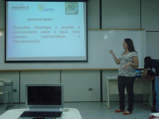 Socialização de estágio São Lourenço - 2012/2