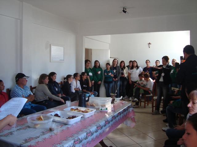 Estágio na APADAVIX - estudantes de São Lourenço