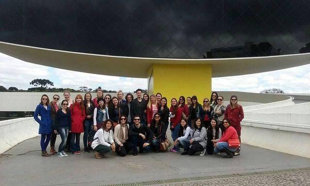 Viagem de estudo a Curitiba
