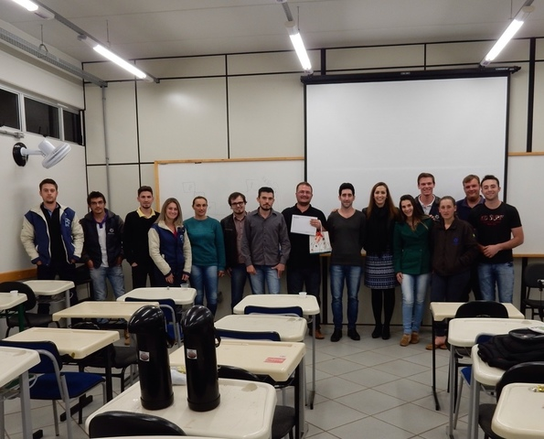 Palestra com Profº Dr. Marcel Manente Boiago, da UDESC_Chapecó