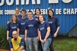 Saida da Equipe Arara Azul em frente a Unochapecó