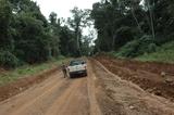 O caminho para chegar ao município (260 km de estrada de chão)