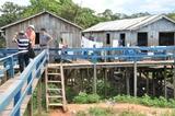 Casas com problema de saneamento em Careiro da Varzea - AM