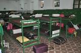 Alojamento feminino no 17° Batalhão de Fronteira em Corumbá-MS