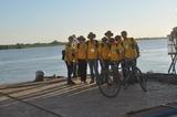 Ao fundo o Rio Paraguai