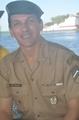 Nosso anjo! Sargento Arilson Lima da Silva responsável por acompanhar a equipe durante a operação