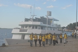 Rondonistas em passeio no porto de Corumbá-MS
