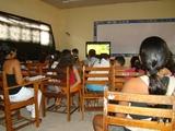 Cine Rondon infantil, este foi o quarto Cine Rondon infantil. O primeiro filme foi Jamaica abaixo de zero, o segundo Pequeno Príncipe, o terceiro Avatar e o quarto Os sem florestas. Sempre após o filme conversamos com as crianças sobre a mensagem do filme
