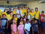 Encerramento das atividades na comunidade de Miracauera, Careiro da Várzea, Amazonas