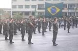 Apresentação do Exército na Formatura