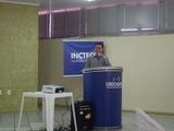 <p>O empreendedor <b>Fabiano Sanick Padilha, </b>sócio da empresa SANICK Equipamentos de Precisão Ltda, fazendo seu pronunciamento.</p> <p></p>