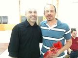 <p>Fabio ao lado de Elton Chitolina, da Empresa Isthmus.</p>