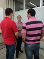 <p>Professor Michel Winkler ao lado dos gestores da Life Soluções, Rodrigo Benedet e Vinicius Gemelli</p>