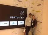 <p>Eduardo Rocha, membro da equipe de gestão da incubadora do C.E.S.A.R e Franciele Pastre, Coordenadora da INCTECh.</p>
