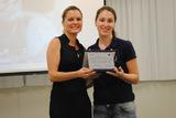 <p>Entrega de placa de referência em plano de negócios, para a empreendedoraFlávia Fernanda Faccin</p> <p></p>