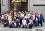 <p>Visita &agrave; Bovespa</p>
