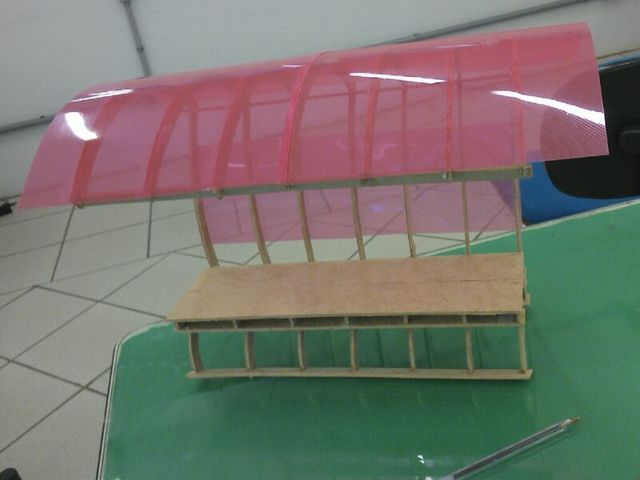 <p>Prototipo de ponto de &ocirc;nibus desenvolvido pela equipe vencedora.&nbsp;</p>