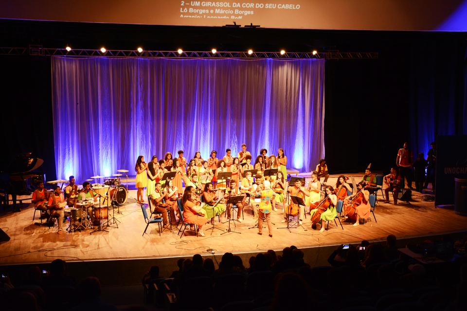 <p>O evento reuniu 11 Orquestras de diversos lugares</p>