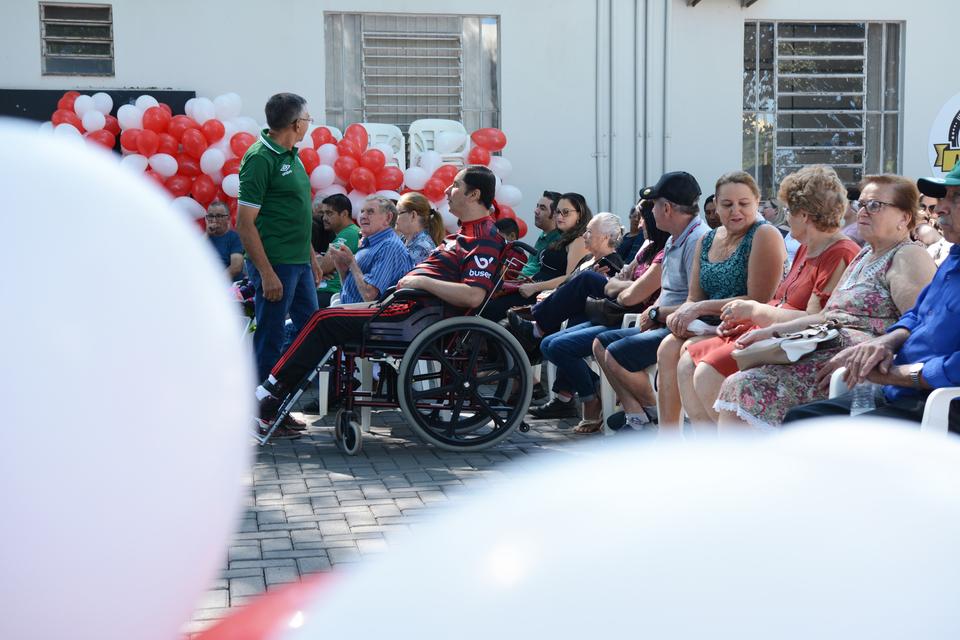 <p>Clínica de Fisioterapia promoveu confraternização para pacientes e familiares</p>