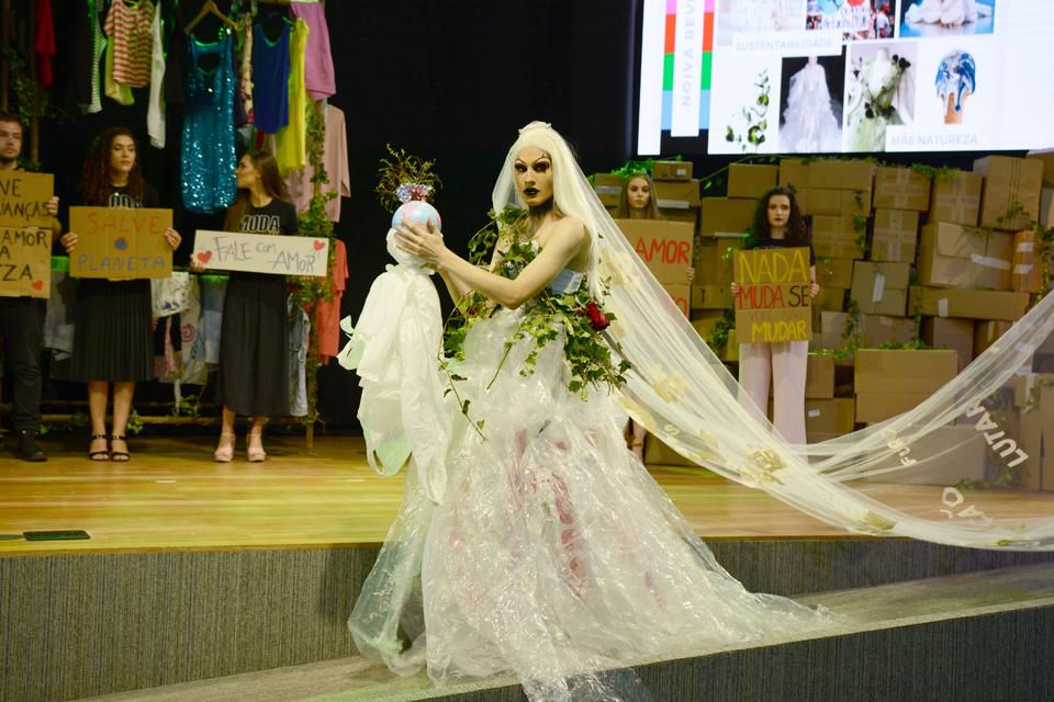 <p>Uno Fashion Day apresentou a coleção Reverberar nesta edição</p>