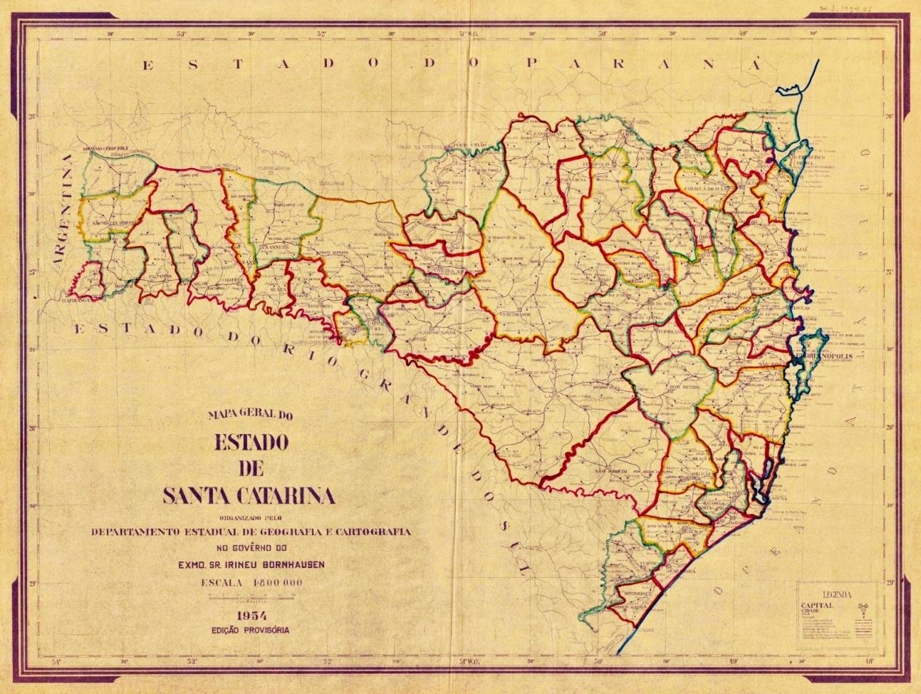 Onda de emancipações divide municípios e forma a Região Oeste