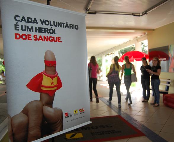 Coleta ocorre nesta quarta-feira, dia 27, no plenário do bloco G da Unochapecó