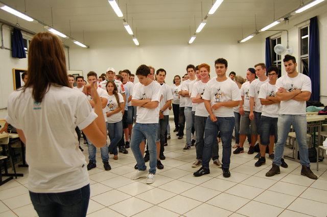 Universidade recebeu calouros do semestre com atividades de integração e conhecimento