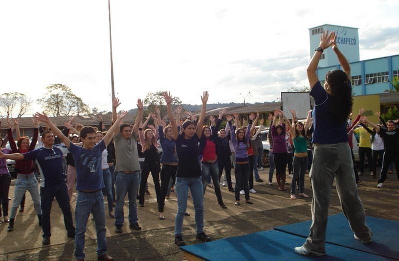 Dia do Desafio na Unochapecó mobiliza comunidade acadêmica