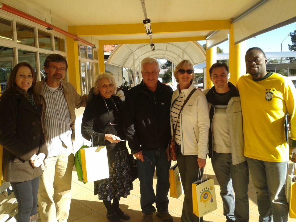 Intercambistas americanos visitam o Brasil para troca cultural