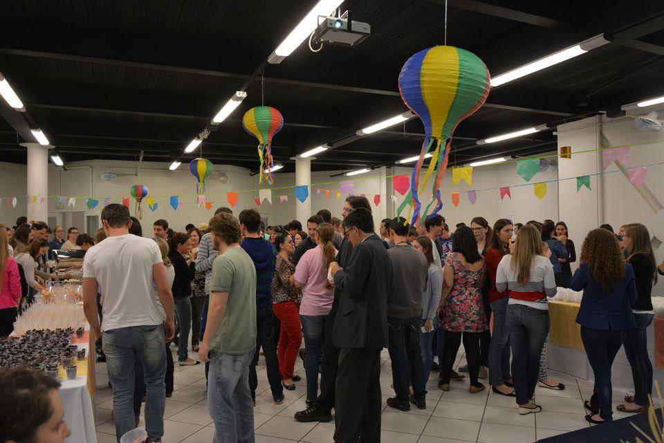 Arraiá organizado pela Cipa promove a integração na Uno