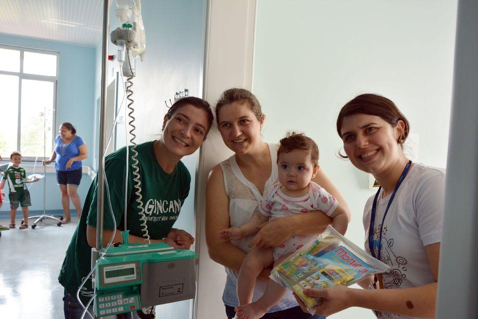 Arrecadações da Gincana são entregues no Hospital da Criança