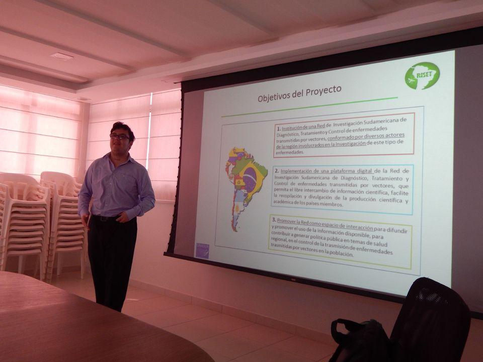 Representante de rede Sul Americana de saúde visita a Unochapecó