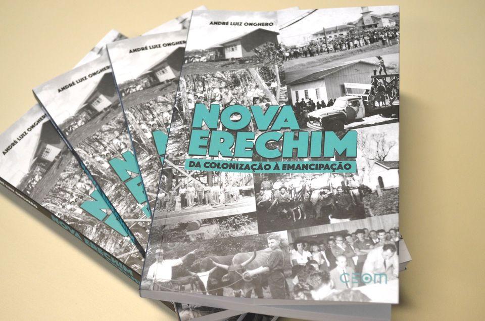 História de Nova Erechim é tema de publicação
