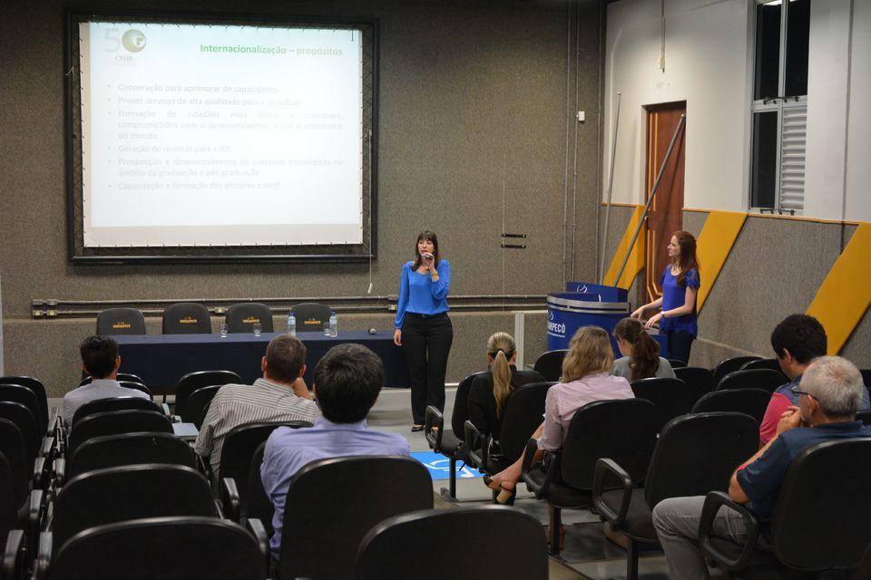 Internacionalização do ensino superior é tema de palestra na Uno