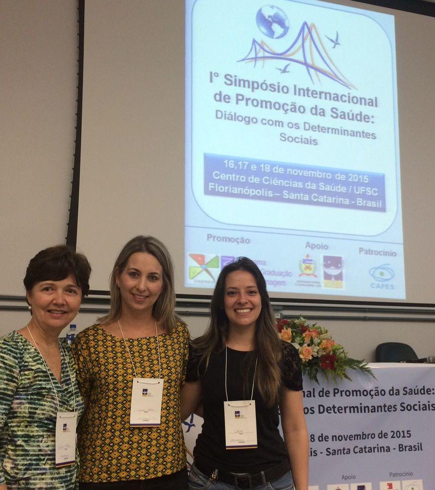 Professoras da Uno participam de Simpósio em Florianópolis