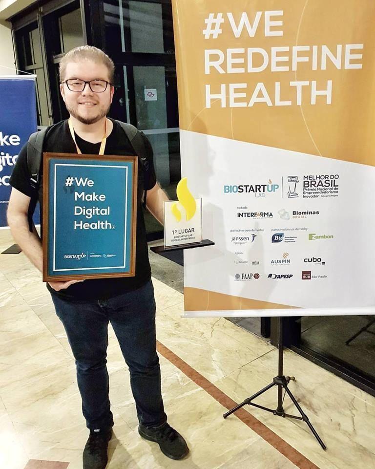PackId vencedora da rodada INTERFARMA do BioStartup Lab