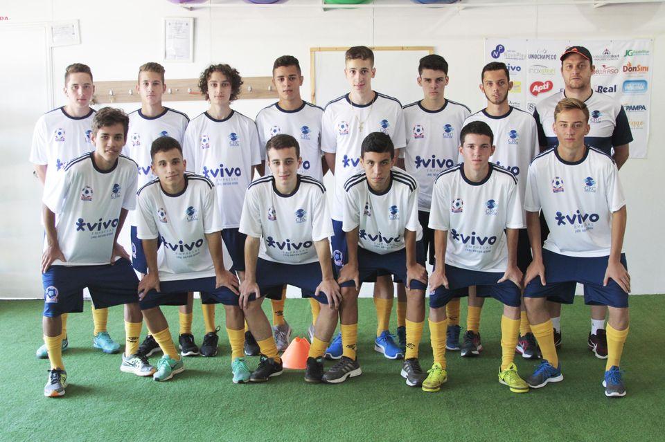 146ab3679f Equipe Sub-17 inicia treinamentos para temporada 2018 - Chapecó - Unochapecó