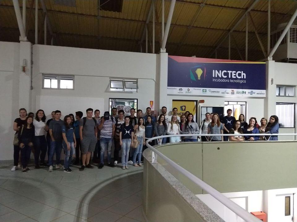 INCTECh recebe visita dos acadêmicos de Administração da Uno