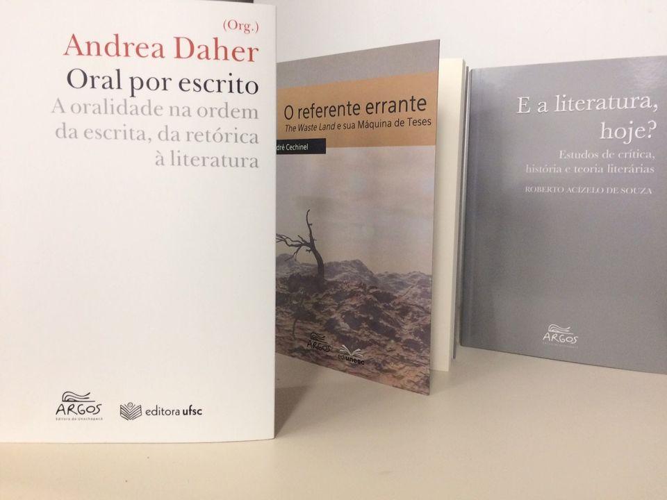 Novos títulos acabam de sair do forno na Editora da Unochapecó