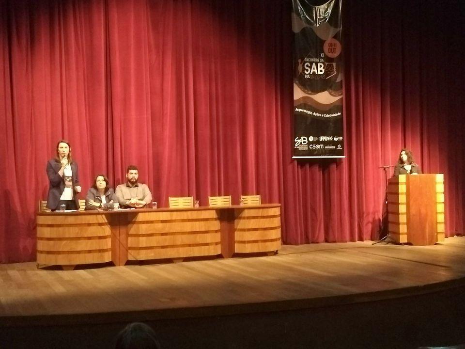Ceom participa do Encontro Regional da Sociedade de Arqueologia Brasileira
