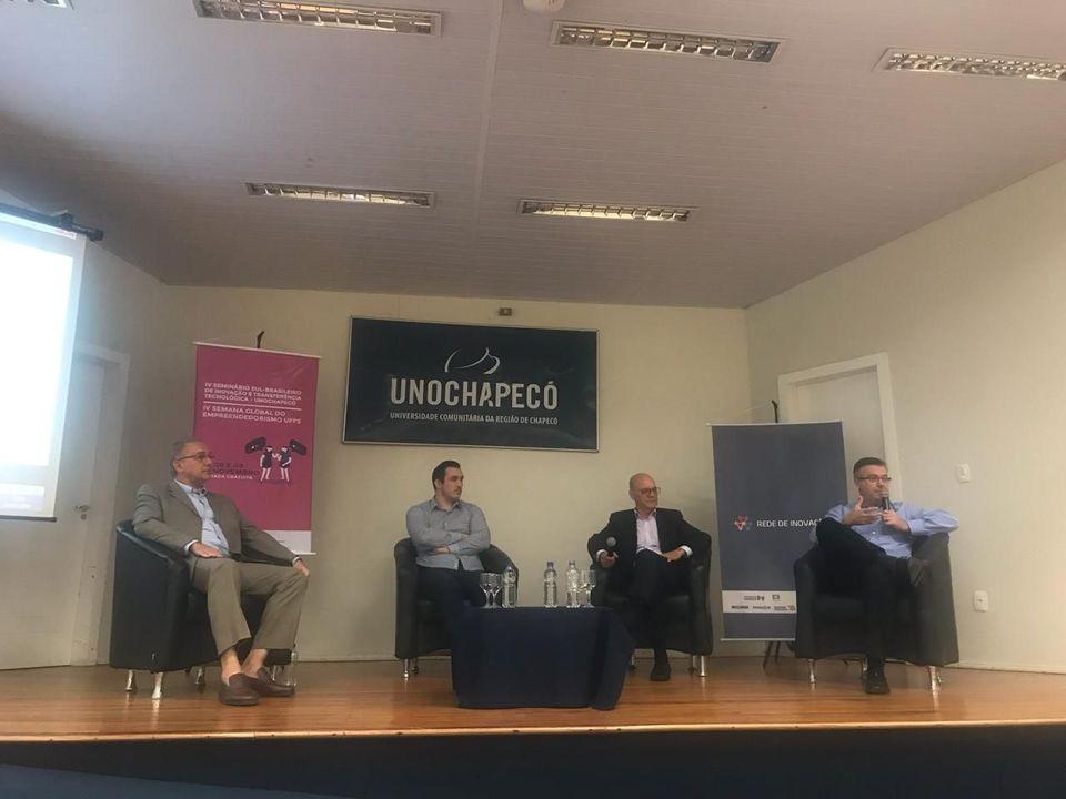 Unochapecó promove seminário para discutir inovação e empreendedorismo