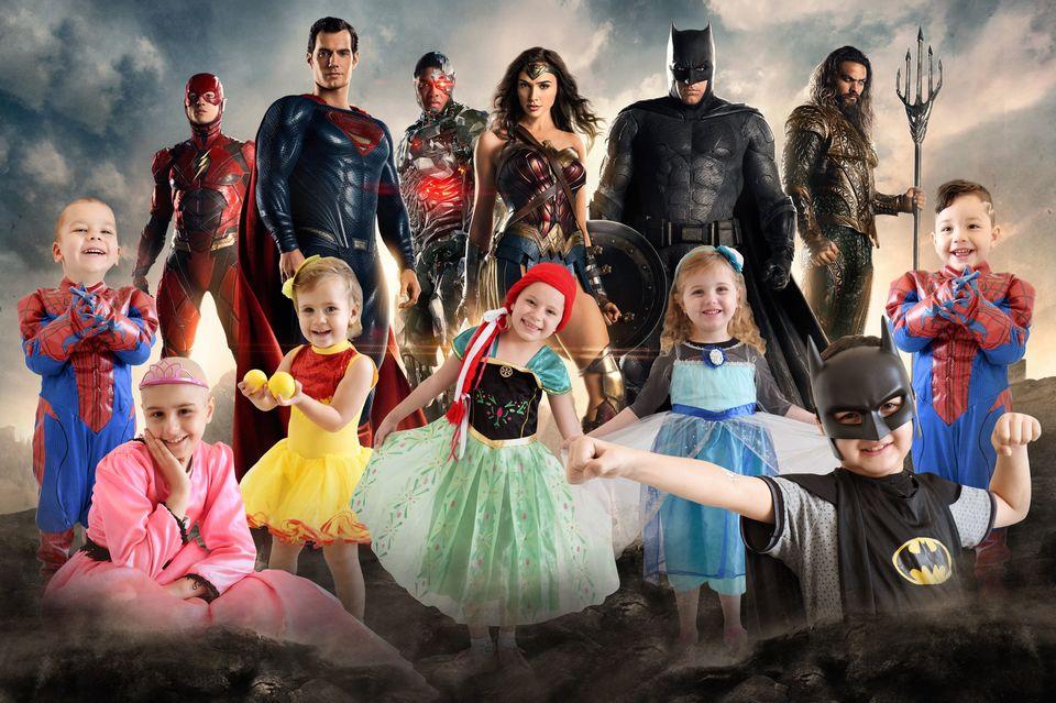 Programa Sorriso para a Vida transforma crianças em super-heróis