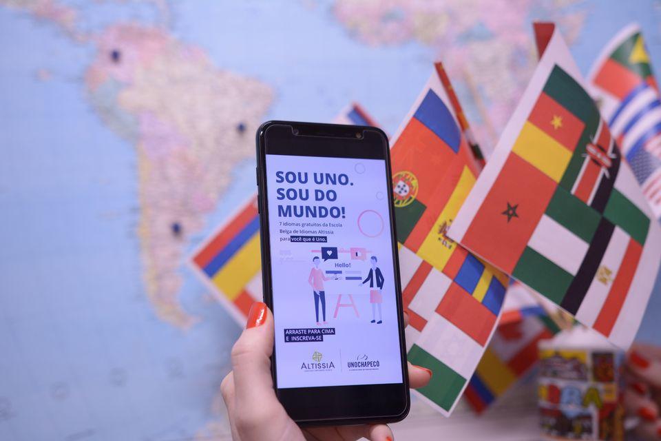 Uno oferece plataforma gratuita para ensino de sete idiomas
