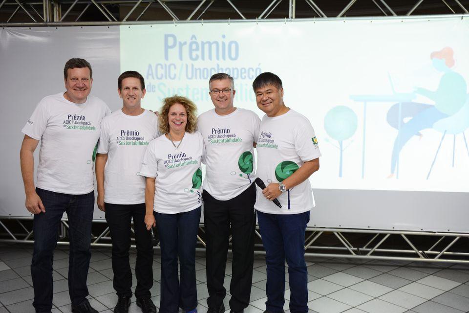 Lançada a 1ª edição do Prêmio ACIC/Unochapecó de Sustentabilidade
