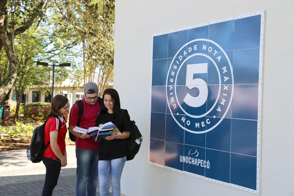 Seletivo Unochapecó está com inscrições abertas para 29 cursos