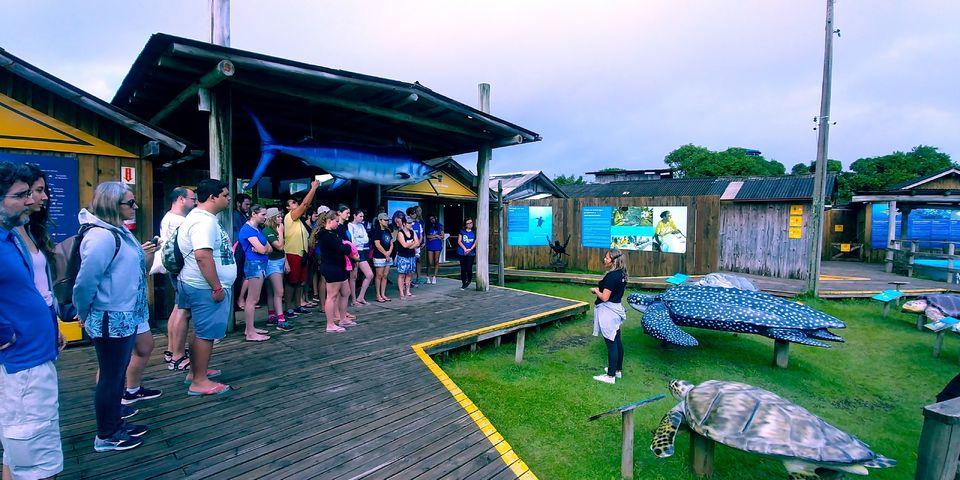 Curso de Ciências Biológicas realiza viagem de estudos para Florianópolis